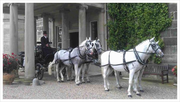 Black Landau Carriage Services