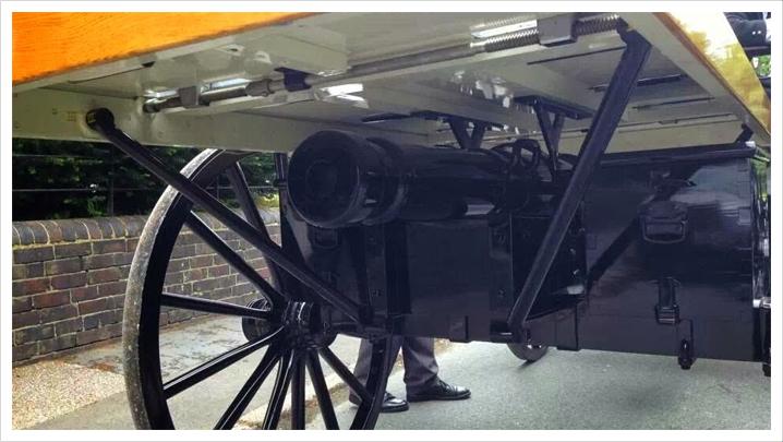 Horse Drawn Gun Carriage