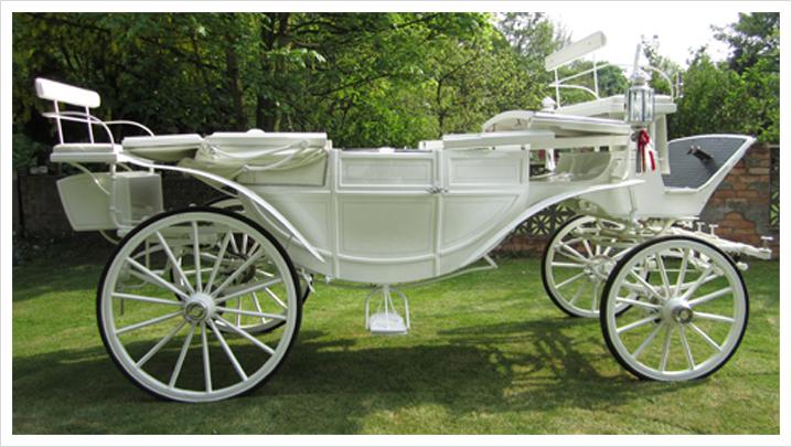White Landau Carriage Services